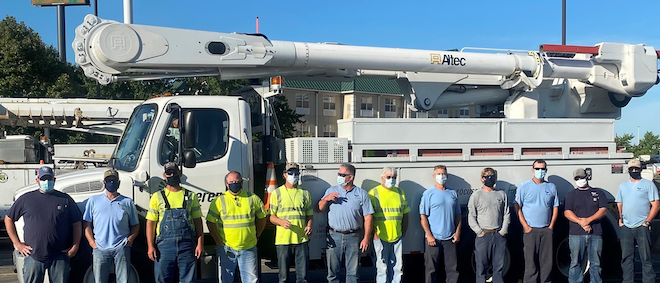 Ameren Illinois Crews From Marion, Anna And Sparta