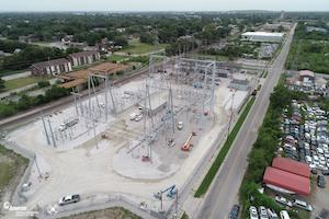 Drone Photo Of Ridge Substation