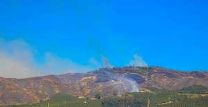 Sonoma, CA amidst 2020 fire season