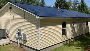 A Tesla Solar Roof was installed on this Habitat for Humanity home in Hattiesburg.