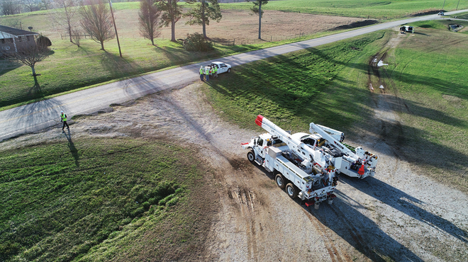 New technology such as Unmanned Aerial Vehicles (UAVs) can provide quick confirmation of Fault Location halos, especially in areas traditionally difficult to patrol.
