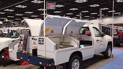 More Than 500 000 Square Feet Of Trucks Truck Equipment On Display At 2012 Work Truck Show Trailer Body Builders