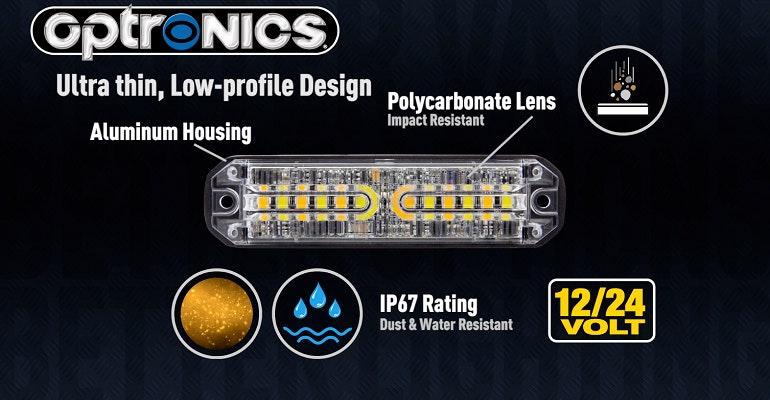Optronics RBL13AB LED Surface Mount Beacon