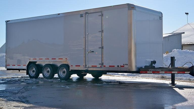 Felling Designs Triple Axle Trailer Chassis For Burschville Trailer Body Builders