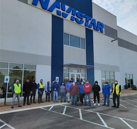 Navistar Employees Aid Distribution Center